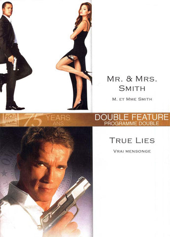 Mr. And Mrs. Smith (M. Et Mme Smith) / True Lies (Vrai Mensonges) DVD Movie