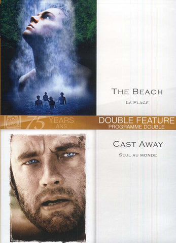 The Beach ( La Plage) / Cast Away (Seul Au Monde) DVD Movie