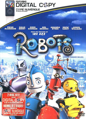 Robots (Widescreen With Digital Copy) (Bilingual) DVD Movie