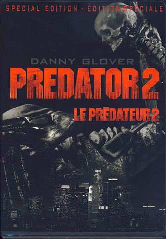Predator 2 (Special Edition) (Bilingual) DVD Movie