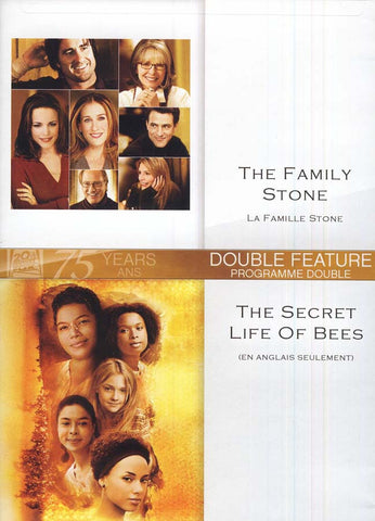 The Family Stone (La Famille Stone) /Secret Life Of Bees (En Anglais Seulement) DVD Movie