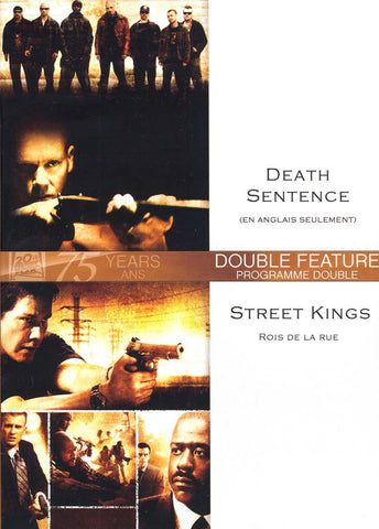 Death Sentence (En Anglais Seulement) / Street Kings ( Rois de la Rue) (Bilingual) DVD Movie