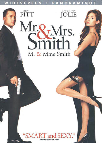 Mr. And Mrs. Smith (Widescreen Edition) (Bilingual) DVD Movie