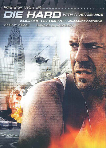 Die Hard With A Vengeance (Black Cover)(Marche Ou Creve - Vengeance Definitive) DVD Movie
