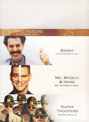 Borat/Me Myself And Irene/Super Troopers (Fox Triple Feature) (Boxset) (Bilingual)