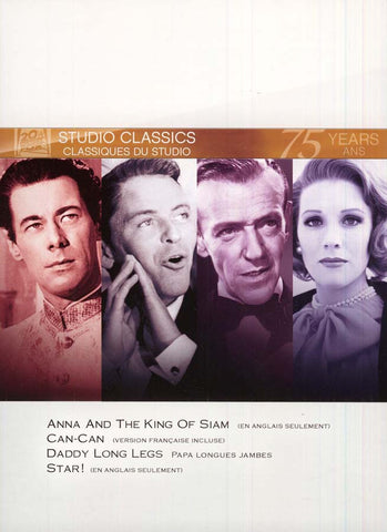 Anna and the King of Siam/Can-Can/Daddy Long Legs/Star (Fox Studio Classics) (boxset) DVD Movie