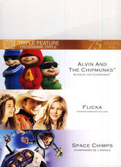 Alvin and the Chipmunks /Flicka /Space Chimps (Fox Triple Feature) (Bilingual) (Boxset)