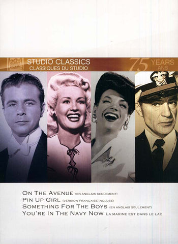 On The Avenue/Something For The Boys/Pin Up Girl/You re In The Navy Now (Fox Studio Classics) (Bilin DVD Movie