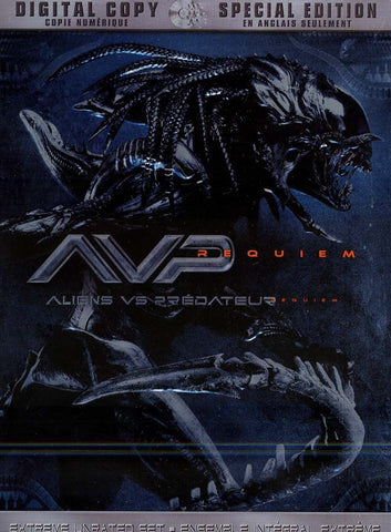 Alien Vs. Predator - Requiem(Special Edition + Digital Copy)(Bilingual) DVD Movie