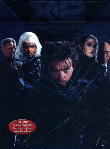 X2 - X-Men United (Full Screen Edition)(Bilingual) DVD Movie