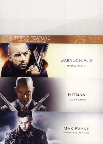 Babylon A.D./Hitman/Max Payne (Triple Feature) (boxset) DVD Movie
