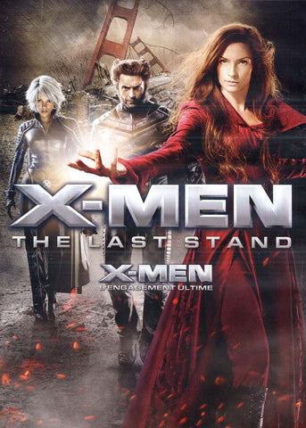 X-Men 3 - The Last Stand (Widescreen)(New Black Cover)(Bilingual) DVD Movie