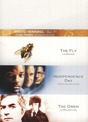 Fly/Independence Day/Omen (Fox Award Winning Collection) (Bilingual)(Boxset) DVD Movie