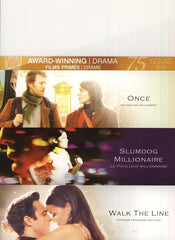 Once/Slumdog Millionaire/Walk The Line (Fox Award Winning Collection) (Bilingual) (Boxset)