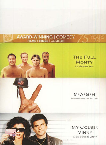Full Monty/M*A*S*H/My Cousin Vinny (Fox Award Winning Collection) (Boxset) DVD Movie