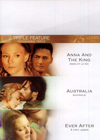 Anna and the King / Australia / Ever After (Fox Triple Feature) (boxset) DVD Movie
