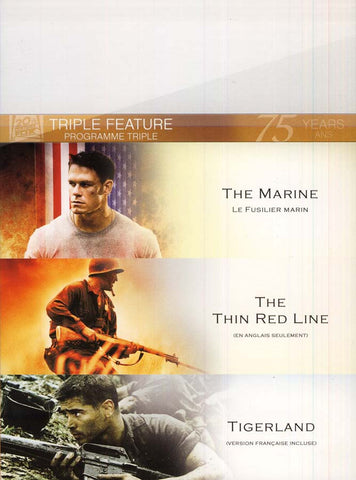 The Marine/Thin Red Line/Tigerland (Fox Triple Feature) (Bilingual) (Boxset) DVD Movie