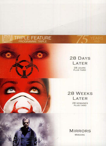 28 Days Later/28 Weeks Later/Mirrors (Fox Triple Feature) (Bilingual) DVD Movie