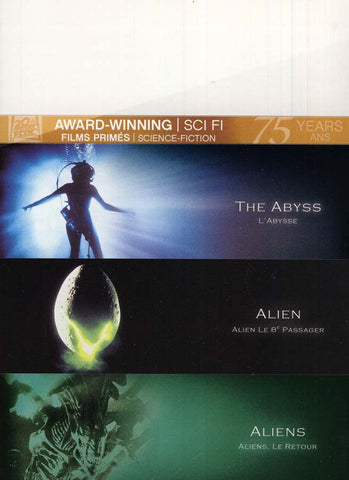 The Abyss/Alien/Aliens (Fox Award Winning Collection) (Boxset) (Bilingual) DVD Movie