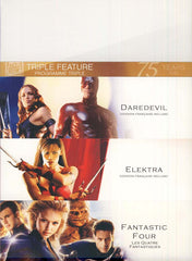 Daredevil/Elektra/Fantastic 4 (Triple Feature)(boxset)