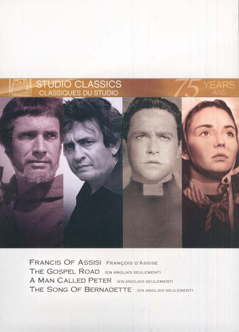 Francis of Assisi/Gospel Road/Man Called Peter/Song of Bernadette (Fox Studio Classics)(boxset) DVD Movie