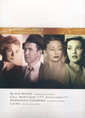 LAURA / BLACK WIDOW / CALL NORTHSIDE 777 / DANGEROUS CROSSING (Fox Studio Classics)(boxset) DVD Movie