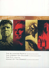 The Alligator People-The Cabinet Of Caligari-The Fly(1958)-House Of The Damned (Bilingual) (Boxset