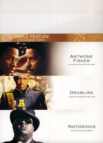 Antwone Fisher/Drumline/Notorious (triple feature) (Boxset) (Bilingual) DVD Movie