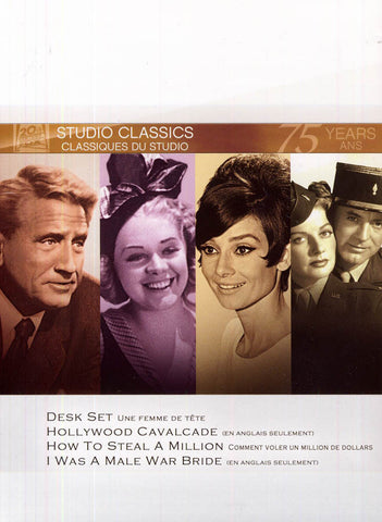 Desk Set/Hollywood Cavalcade/How To Steal A Million/... (Fox Set Classics) (Bilingual) (Boxset) DVD Movie