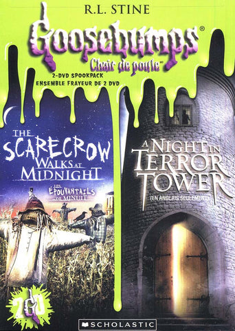 Goosebumps: The Scarecrow Walks at Midnight/ A Night in Terror Tower (Bilingual) DVD Movie