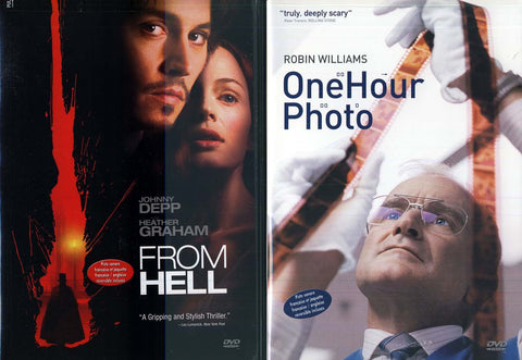 From Hell/ One Hour Photo (Double Feature) (Bilingual) (Boxset) DVD Movie