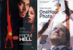 From Hell/ One Hour Photo (Double Feature) (Bilingual) (Boxset)