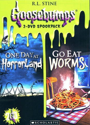 Goosebumps: One Day at Horrorland / Go Eat Worms(Double Feature) DVD Movie