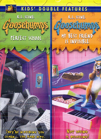 Goosebumps - Perfect School/My Best Friend Is Invisible (KidsDouble Features) DVD Movie