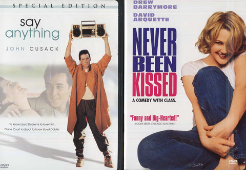 Never Been Kissed / Say Anything (Double Feature) (Boxset) DVD Movie