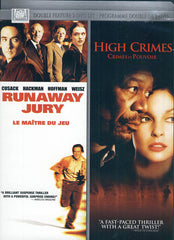 High Crimes / Runaway Jury (Le Maitre Du Jeu) (Bilingual) (Double Feature 2 DVD Set) (Boxset)