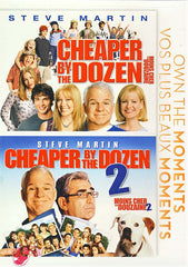 Cheaper By the Dozen 1&2 (Bilingual) (Double Feature)
