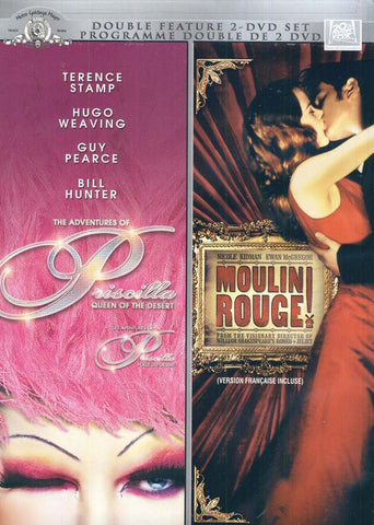 Adventures of Priscilla Queen of the Desert / Moulin Rouge (Double Feature) (Boxset) DVD Movie