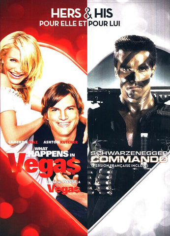 What Happens In Vegas / Commando (Hers and His) (Bilingual) DVD Movie