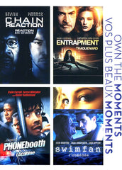 Chain Reaction/ Entrapment/ Phonebooth/ Swimfan (Bilingual) (Boxset)