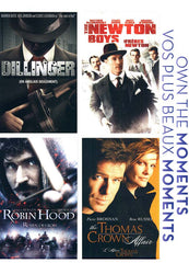 Dillinger/ Newton Boys/ Robin Hood/ Thomas Crown Affair (Fox Own The Moments Collection)(Bilingual)