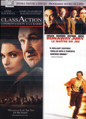 Runaway Jury And Class Action (Double Feature) (Bilingual) DVD Movie