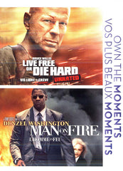 Live Free Die Hard/ Man On Fire (Bilingual)