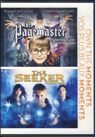 Pagemaster/Seeker (Double Feature) DVD Movie