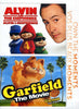 Alvin and the Chipmunks / Garfield: The Movie (Bilingual) DVD Movie