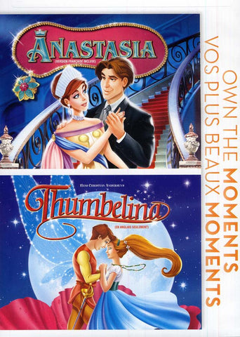 Anastasia / Thumbelina (Bilingual) DVD Movie