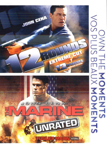 12 Rounds (Extreme Cut)/Marine (Unrated)(double feature) (Bilingual) DVD Movie