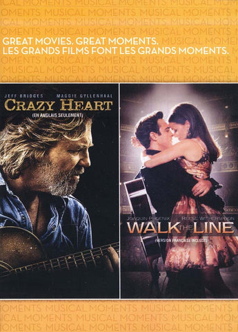 Crazy Heart / Walk the Line (Bilingual) DVD Movie