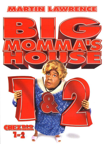Big Momma s House 1 & 2 (Chez Big Momma 1 et 2)(bilingual) DVD Movie