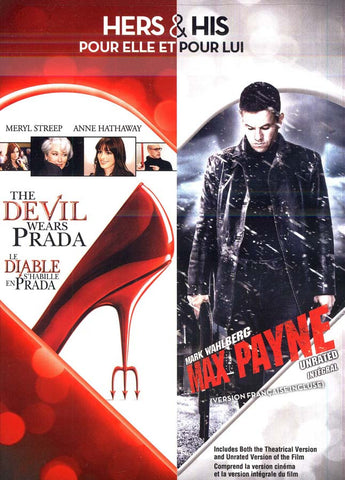 Devil Wears Prada / Max Payne (Hers and His) (Bilingual) DVD Movie